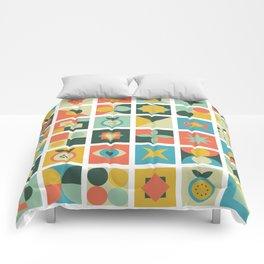 Geometric pattern #2 Comforters