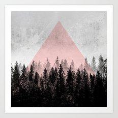 Woods 3X Art Print