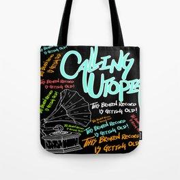 Calling Utopia- Woah Tote Bag