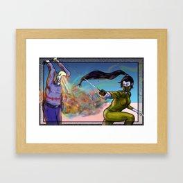 Flick Framed Art Print