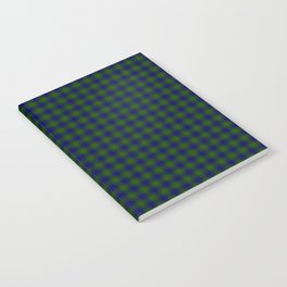 Colquhoun Tartan Notebook