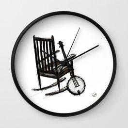 Grandma's Banjo Wall Clock