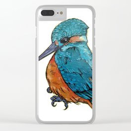 L'il Lard Butt - The Kingfisher Clear iPhone Case