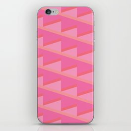 Pink Ascent iPhone Skin