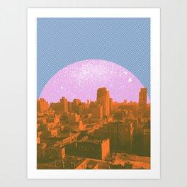 Metropolis Landing II Art Print
