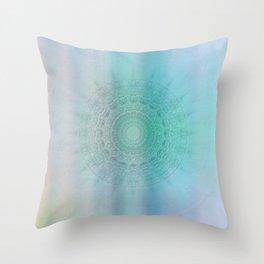 Mandala sensual light Throw Pillow