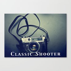Classic Shooter Canvas Print