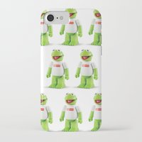 kermit iPhone & iPod Cases featuring Kermit by MrWhite