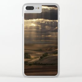 Sunny shower Clear iPhone Case