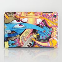 ice cream iPad Cases featuring Ice Cream by Yuliya