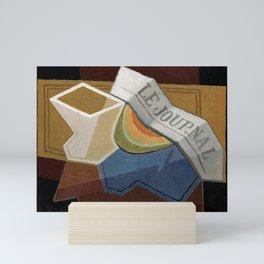 """Juan Gris """"La Tranche De Melon"""" Mini Art Print"""