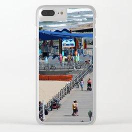 Grommet Park Clear iPhone Case