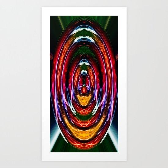 Into the vortex Art Print