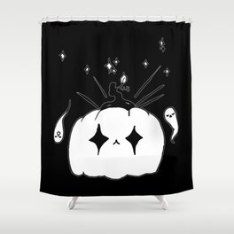 ▴ jack-o-lantern ▴ Shower Curtain