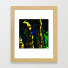 Colors in the Night Framed Art Print