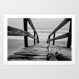 Bridge Art Print
