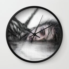 Unclean Wall Clock