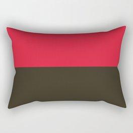 Raspberry Licorice Rectangular Pillow