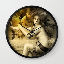 The Blessed Temperance, Gold Wall Clock