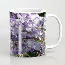 Wisteria With Garden Background Coffee Mug