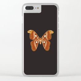 Atlas Moth (Attacus Atlas) Clear iPhone Case