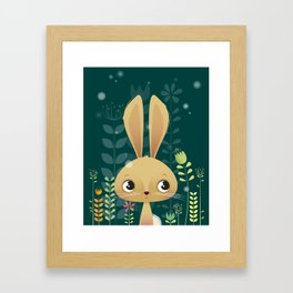 Bunny! Framed Art Print