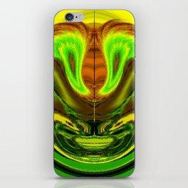 Yellow Devils Ball iPhone Skin