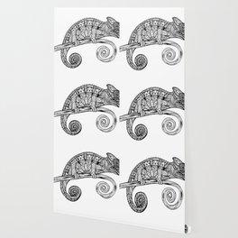 Rubino Lizard Drawing Wallpaper