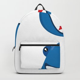 Friendly Sharks Happy Shark Backpack