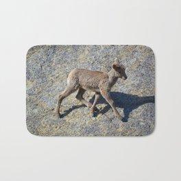 Lamb in Jasper National Park   Canada Bath Mat