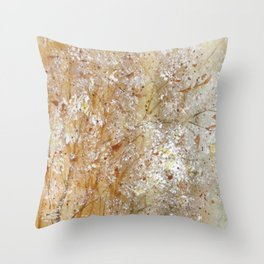 Bristles And Blooms Throw Pillow