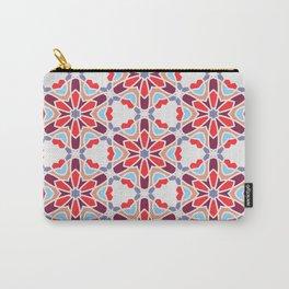 Geometric Hexagonal Pattern 01 Carry-All Pouch