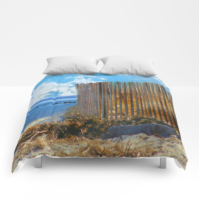 A Day At The Beach Comforters