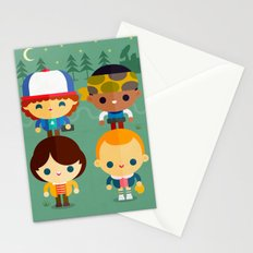 Stranger and things Stationery Cards