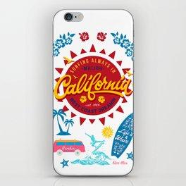 California West Coast Dreamin iPhone Skin