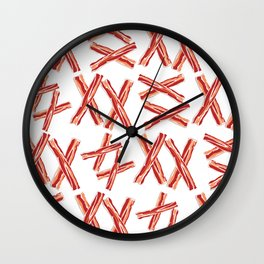 Extra Bacon Wall Clock