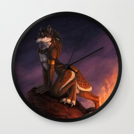 Twilight's Beacon Wall Clock