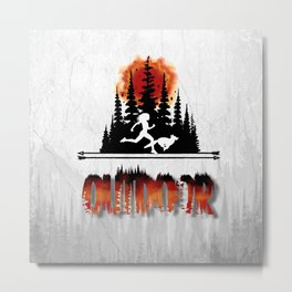 Outdoor Metal Print