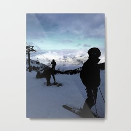 Up here with wonderful views Metal Print