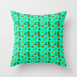 Fun & Fruity Throw Pillow