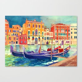 sunshine in Venezia Canvas Print