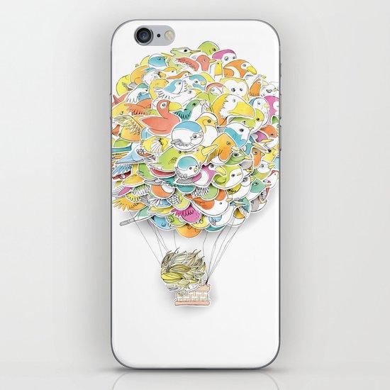 Bird Balloon iPhone & iPod Skin