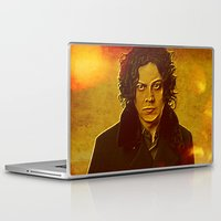 jack white Laptop & iPad Skins featuring Jack White by yahtz designs