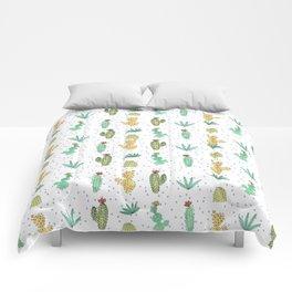 Cactus SERIE - CACTI LOVE Comforters