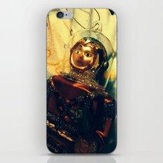 Vintage Christmas Astronaut iPhone & iPod Skin