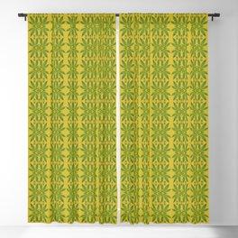 Marijuana Leaf Pattern Blackout Curtain