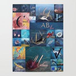 A, B, Seas Poster