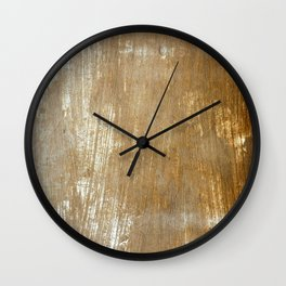 One Hand painted Wall Clock
