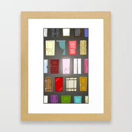 Doors Framed Art Print
