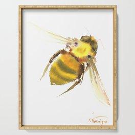 Bee, bee art, bee design Serving Tray